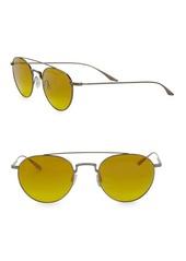 Barton Perreira Aviator Sunglasses