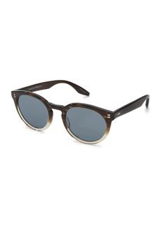 Barton Perreira Men's Rourke Acetate Cat-Eye Sunglasses