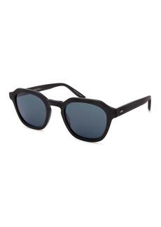 Barton Perreira Men's Tucker Vintage Square Acetate Sunglasses