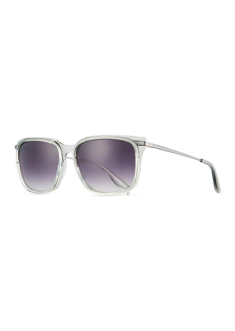 80329b090326 Barton Perreira Barton Perreira Prouvé Square Acetate Sunglasses ...
