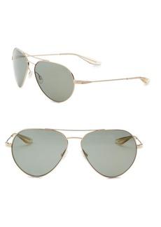 Barton Perreira Commodore 61mm Aviator Sunglasses