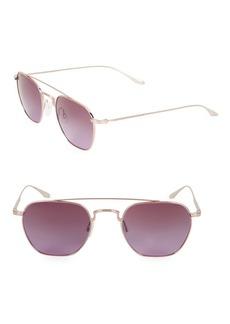 Barton Perreira Doyen 52MM Aviator Sunglasses