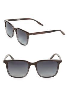 Barton Perreira Heptone 54MM Rectangular Sunglasses