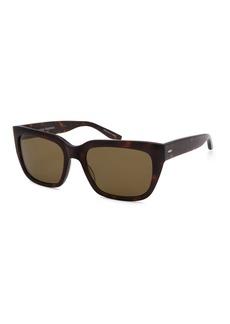 Barton Perreira Men's Vesuvio Dark Walnut Sequoia Polarized Sunglasses