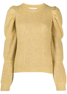 ba&sh Bale puff-sleeve jumper