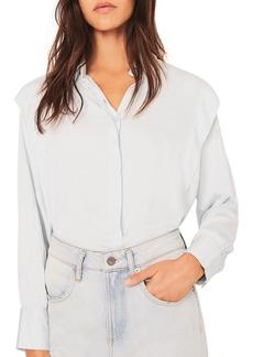 ba&sh Alia Ruffled Shirt
