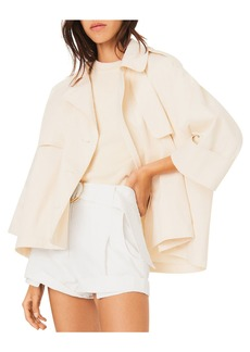 ba&sh Brone Short Trench Coat