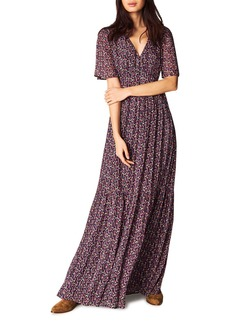 ba&sh Divine Open-Back Maxi Dress
