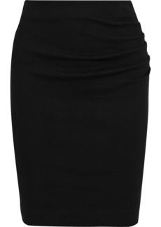Ba&sh Woman Catany Checked Stretch-cotton Mini Skirt Black