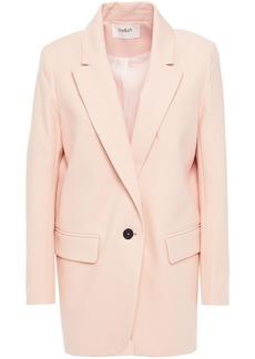 Ba&sh Woman Wall Cotton-blend Twill Blazer Blush