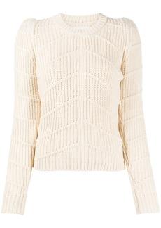 ba&sh Dabney chunky-knit jumper