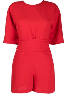 ba&sh Dance v-back playsuit