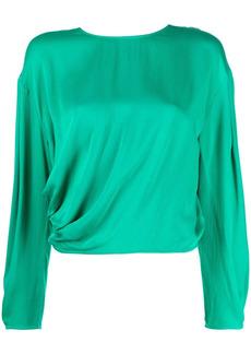 ba&sh drop-shoulder blouse