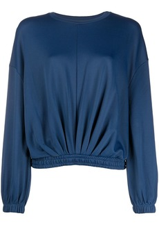 ba&sh Molly cropped elasticated jumper