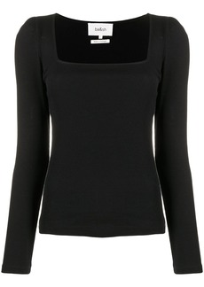 ba&sh Olympe fitted jumper