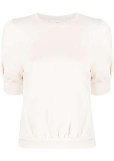 ba&sh short puff sleeves sweater