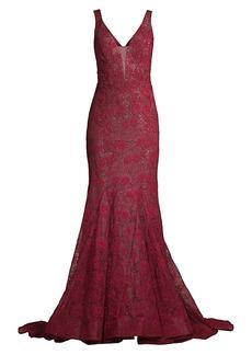 Basix Black Label Lace Mermaid Gown