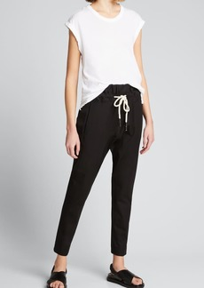 Bassike Relaxed Stretch Twill Pants