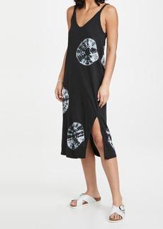 Bassike V Neck Jersey Dress