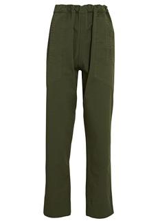 Bassike Slouchy Straight-Leg Pants