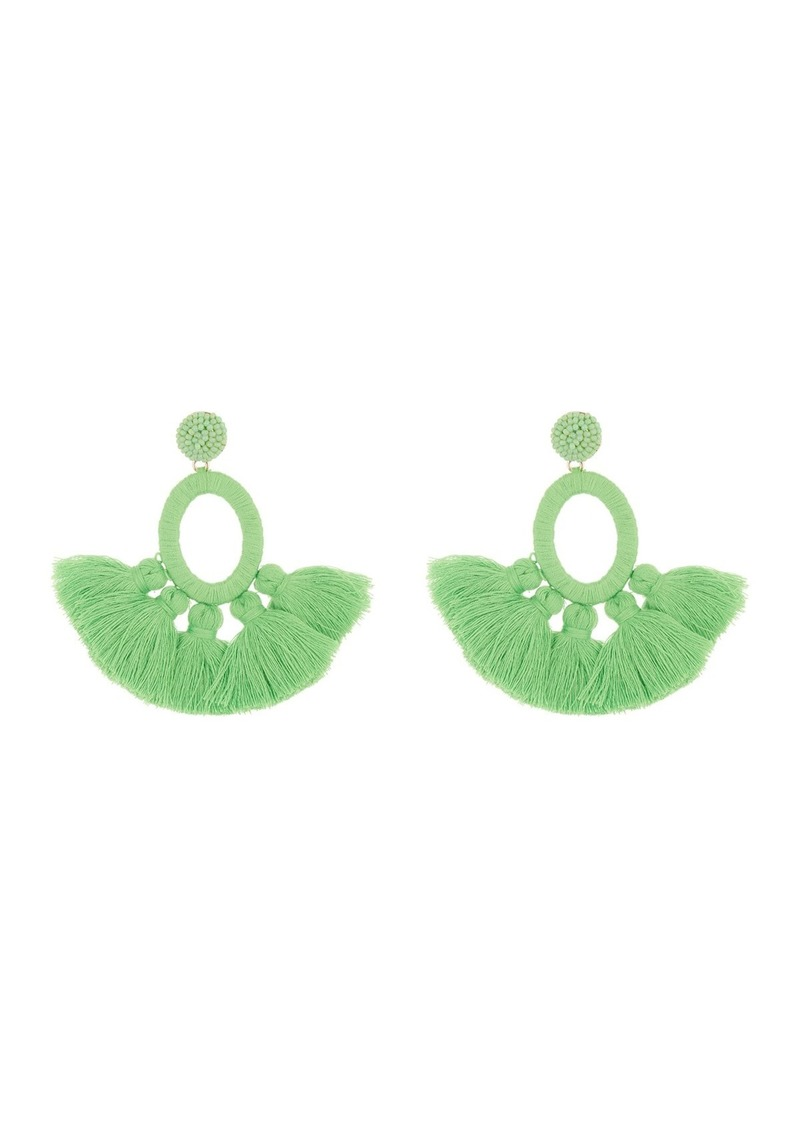 BaubleBar Abacos Tassel Statement Earrings