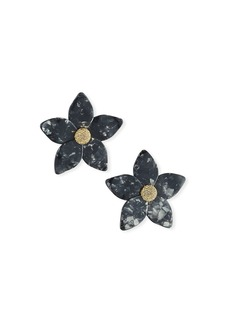 BaubleBar Adelissa Resin Flower Earrings