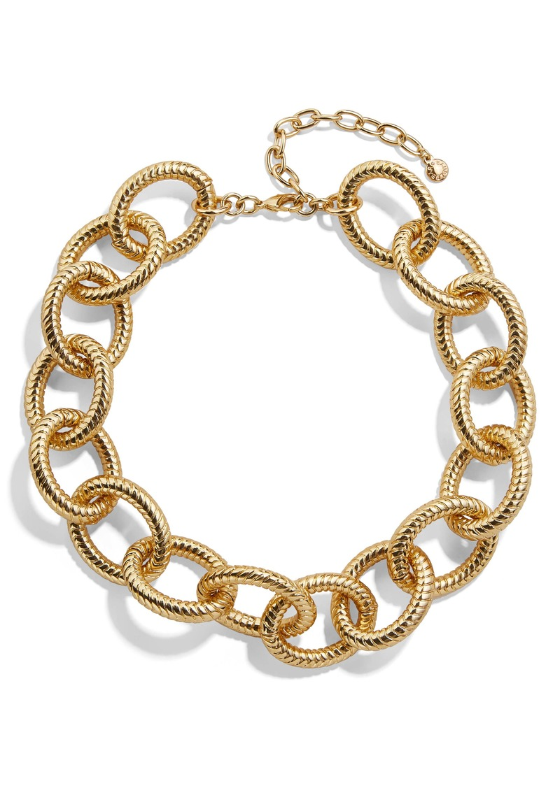 BaubleBar Alexa Large Link Collar Necklace