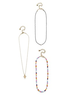 BaubleBar Alleria Set of 3 Necklaces