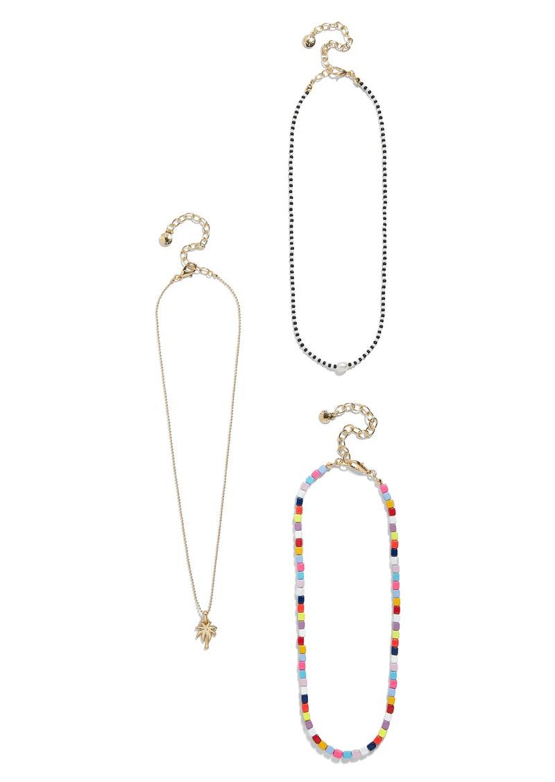 Alleria Set of 3 Necklaces