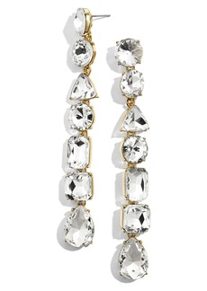 BaubleBar Alyssa Crystal Drop Earrings