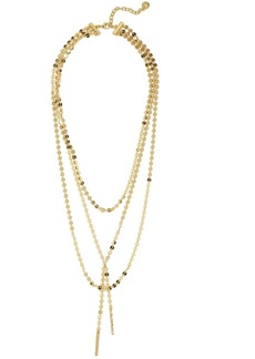 BAUBLEBAR Amber Lariat Necklace, 18""