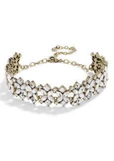 BaubleBar Annelle Crystal Collar Necklace
