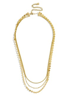 BaubleBar Ariana Multistrand Necklace