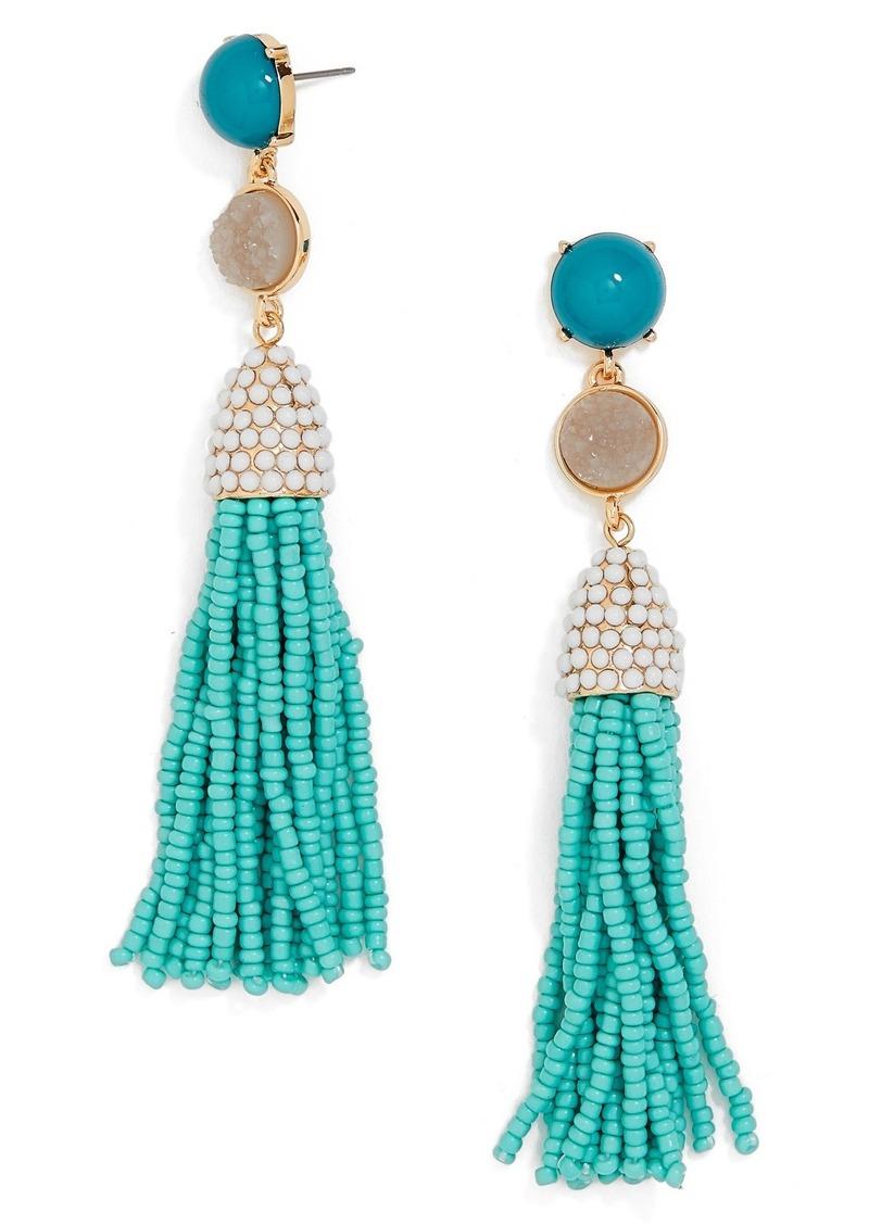 BaubleBar Ashlee Tassel Drop Earrings