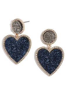 BaubleBar Asimina Drusy Drop Earrings
