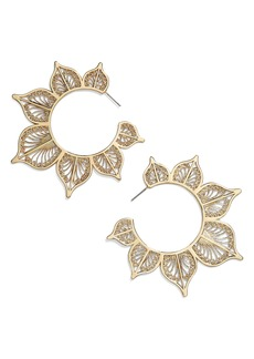BaubleBar Autumn Hoop Earrings