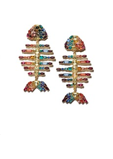 BAUBLEBAR Baiji Multicolor Fish Drop Earrings