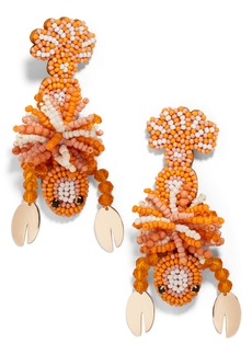 BaubleBar Beaded Lobster Drop Earrings