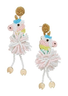 BAUBLEBAR Beaded Unicorn Drop Earrings