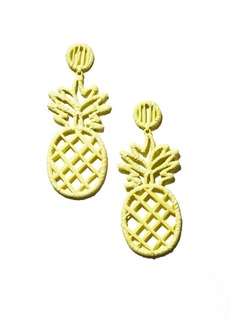 BAUBLEBAR Bermuda Pineapple Drop Earrings