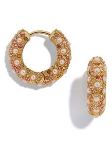 BaubleBar Biscay Huggie Hoop Earrings