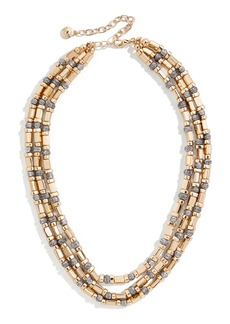BaubleBar Cailyn Layered Chain Necklace