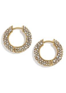 BaubleBar Carina Huggie Hoop Earrings