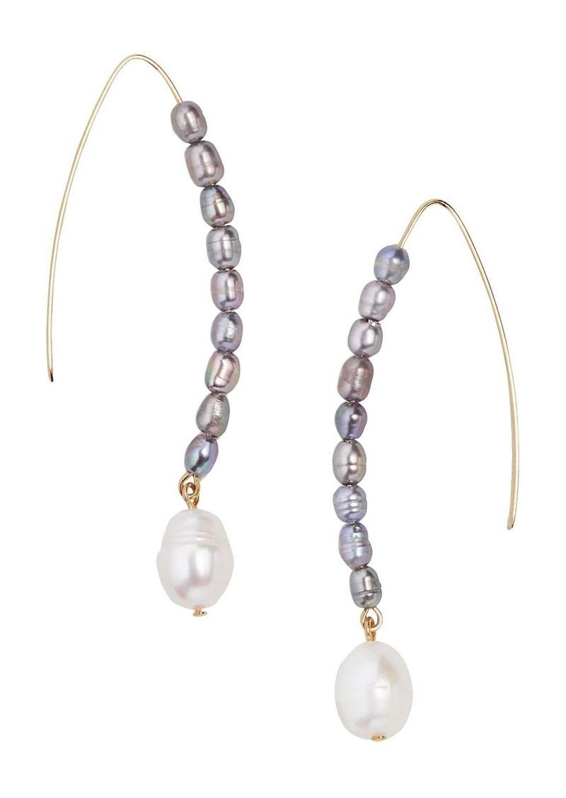 BAUBLEBAR Caspian Drop Earrings