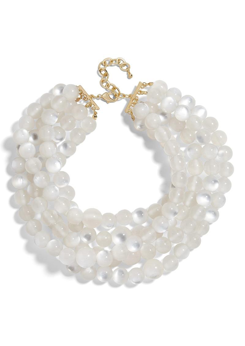 BaubleBar Cassarah Beaded Multistrand Necklace