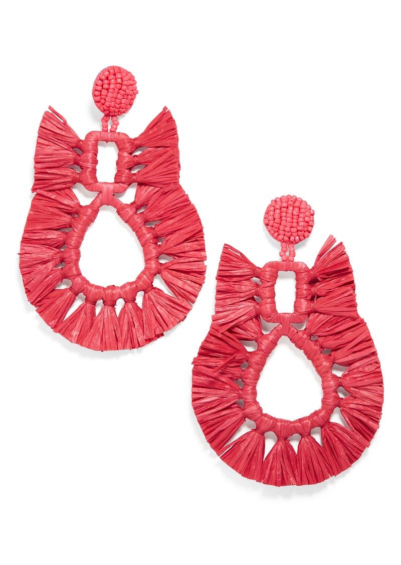 BaubleBar Celia Fringe Earrings