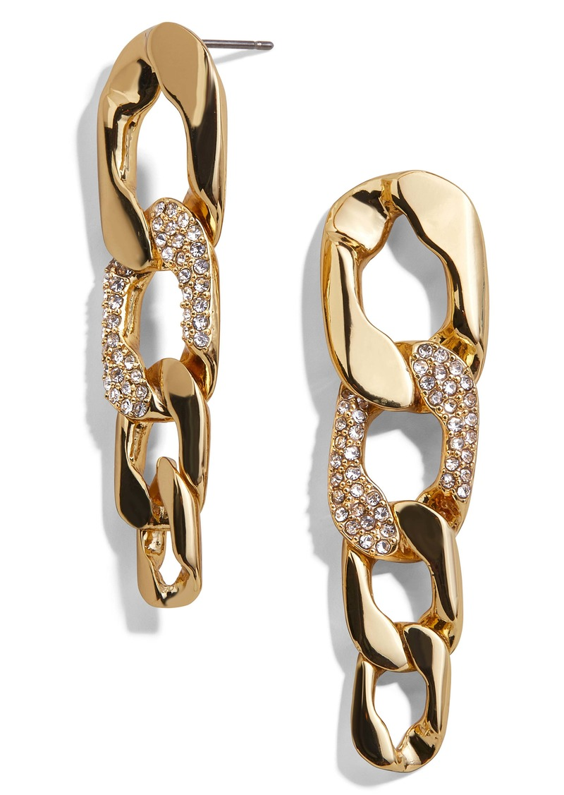 BaubleBar Chain Link Drop Earrings