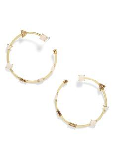 BaubleBar Cindy Hoop Earrings