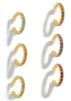 BaubleBar Claren Set of 6 Ear Cuffs