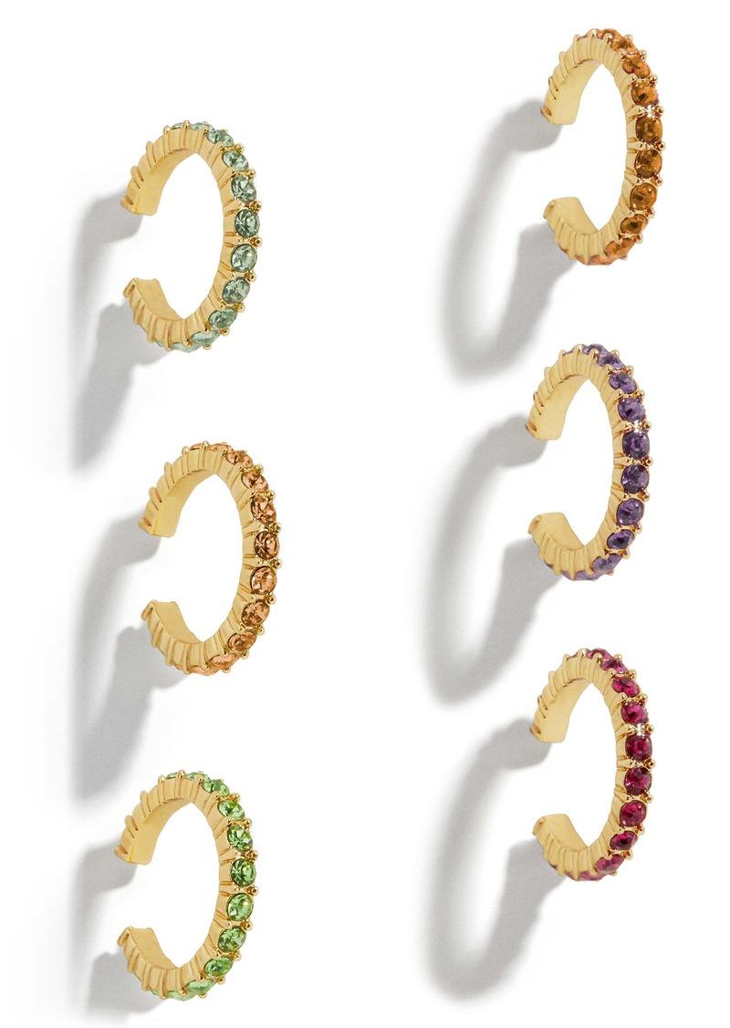BaubleBar Claren Set of 6 Ear Cuffs
